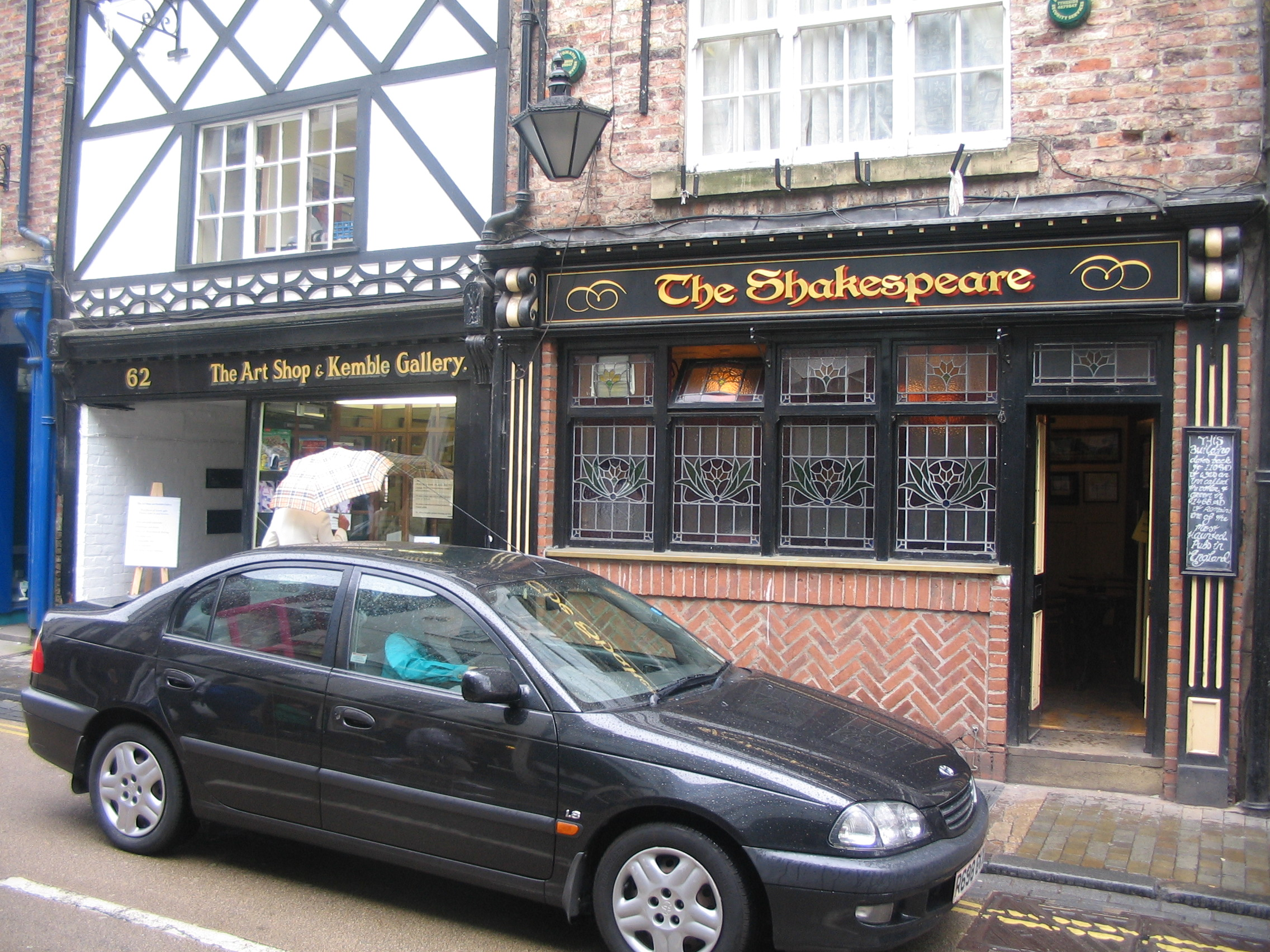 DURHAM - pub The Shakespeare